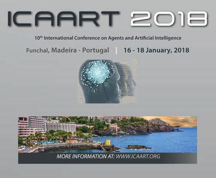 Conference ICAART 2018